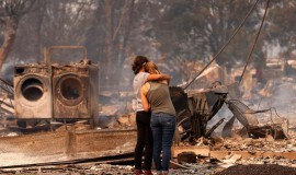 Getting assistance after the wildfires